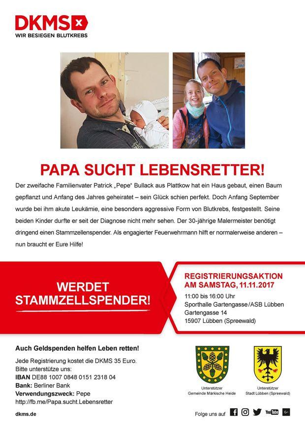 Lausitzer Handwerksmeister sucht Lebensretter