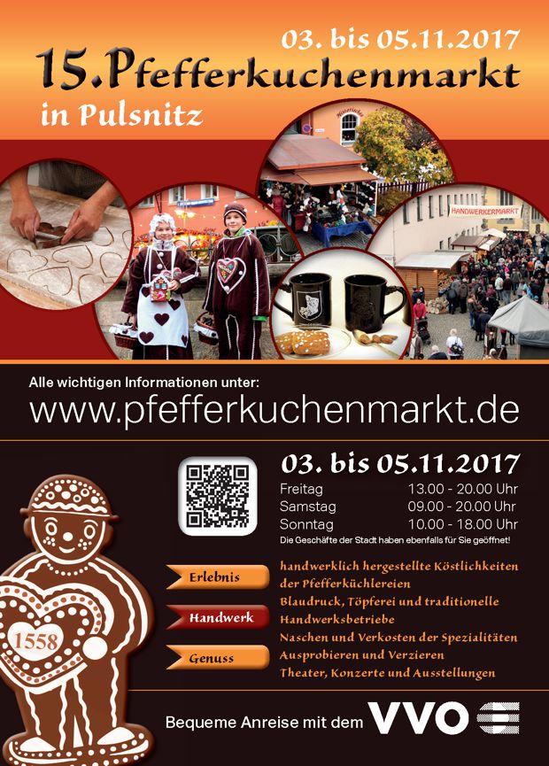 Pfefferkuchenmarkt in Pulsnitz