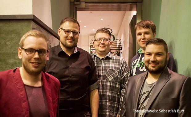 eSport Verein Vorstand - v.l.n.r.: Patrick Schölzel, Tino Hanf, Erik Exner, Martin Schultka, Stefan Degner