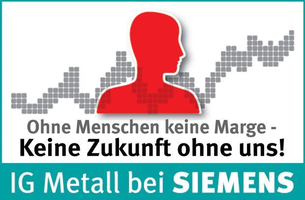 Aktionen gegen Siemens Standortschließungen