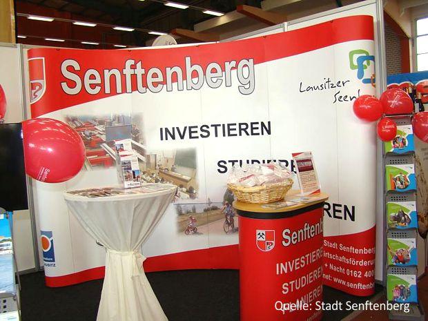 Senftenberger Gemeinschaftsstand aus Lausitz-Messe
