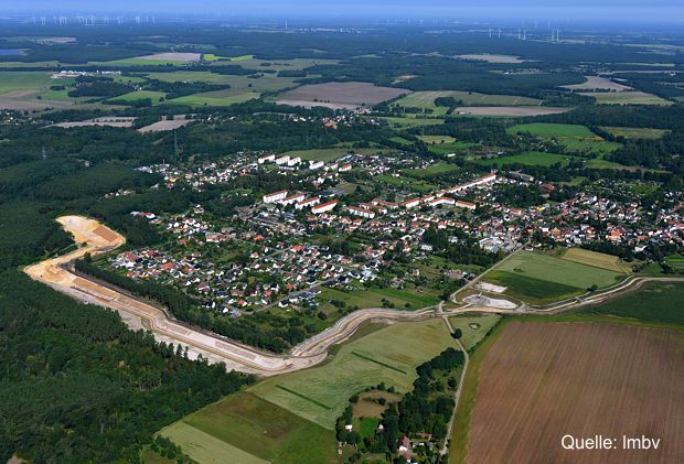 Drainagesystem Neuer Südgraben Altdöbern