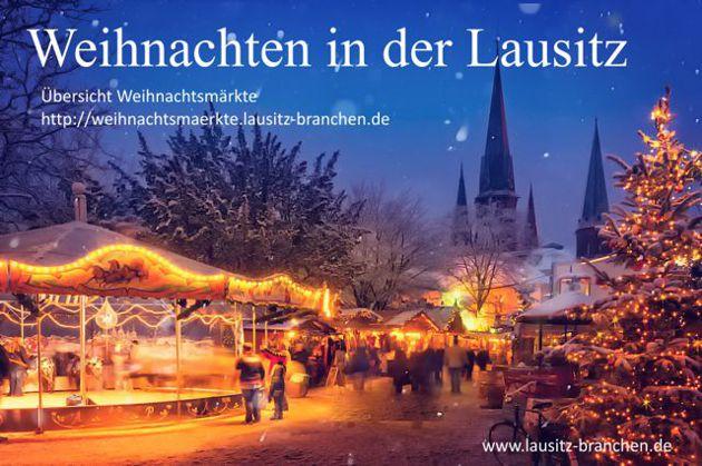 Weihnachtsmärkte in der Lausitz