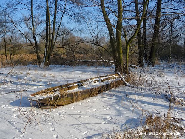 Winterzauber im Spreewald