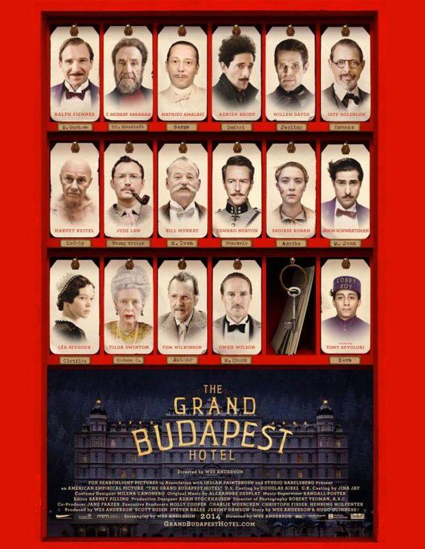 US-Komödie Grand Budapest Hotel von Wes Anderson