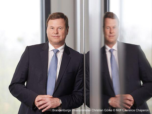 Brandenburgs Finanzminister Christian Görke