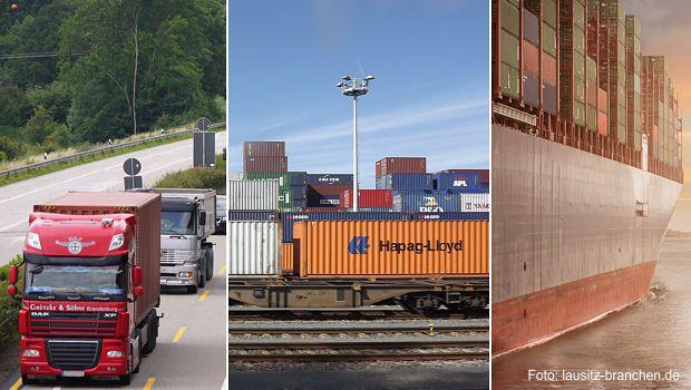 Kombinierte Güterverkehre in der Lausitz
