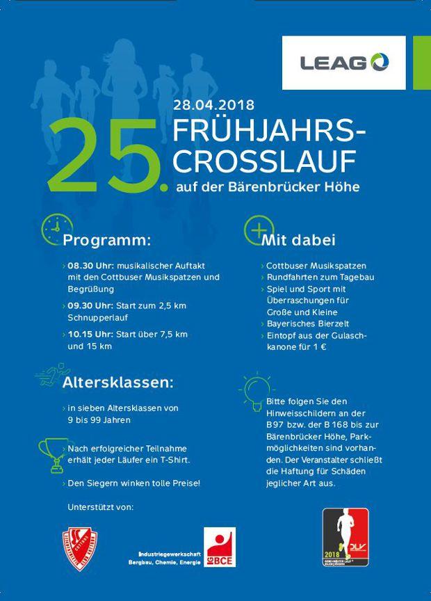 25. Frühjahrs-Crosslauf auf der Bärenbrücker Höhe