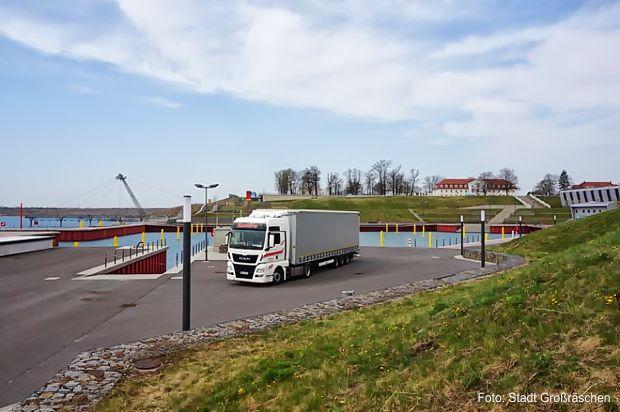 Testbefahrung des Stadthafens