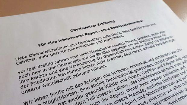 Oberlausitzer Erklärung