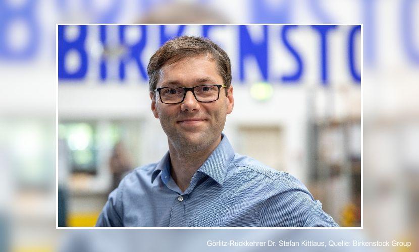 örlitz-Rückkehrer Dr. Stefan Kittlaus, Quelle: Birkenstock Group