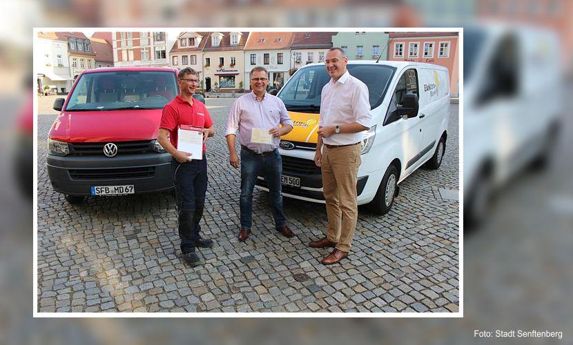 Parkkarten für Handwerkbetriebe in Senftenberg