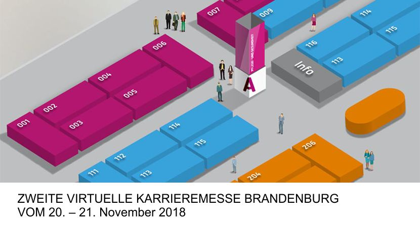 Virtuelle Karrieremesse Brandenburg 2018