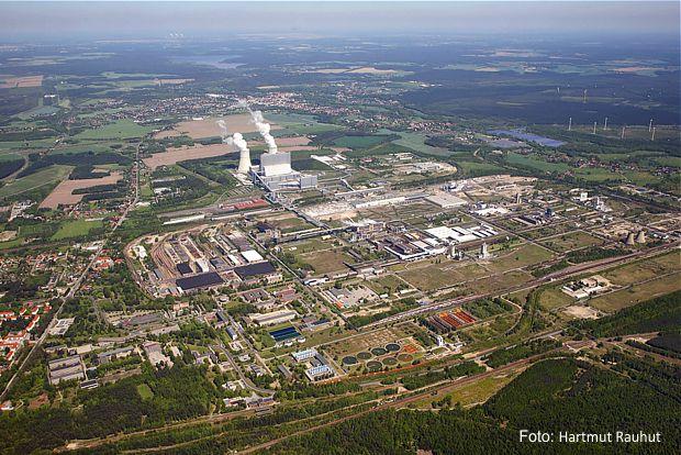 Industrieparks Schwarze Pumpe