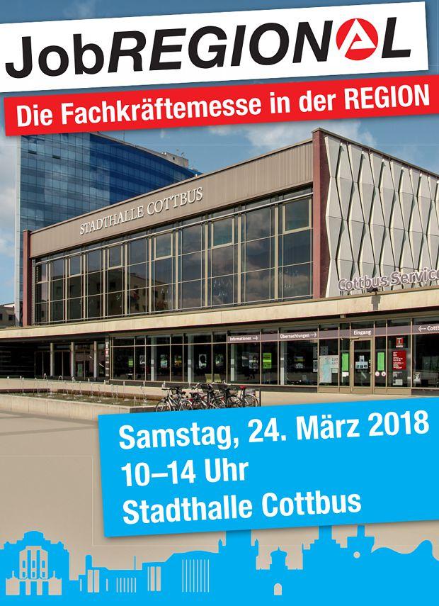 JobREGIONAL - Fachkräftemesse in Cottbus