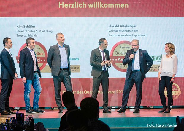Verleihung des QualityBus Awards