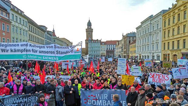 Großdemonstration Siemens und Bombardier am 19.01.18