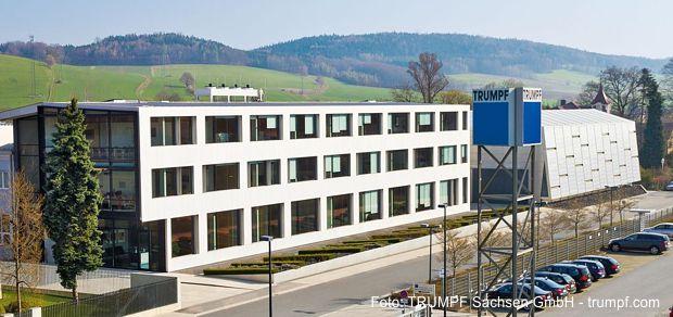 Hochtechnologieunternehmen TRUMPF Sachsen GmbH in Neukirch Oberlausitz
