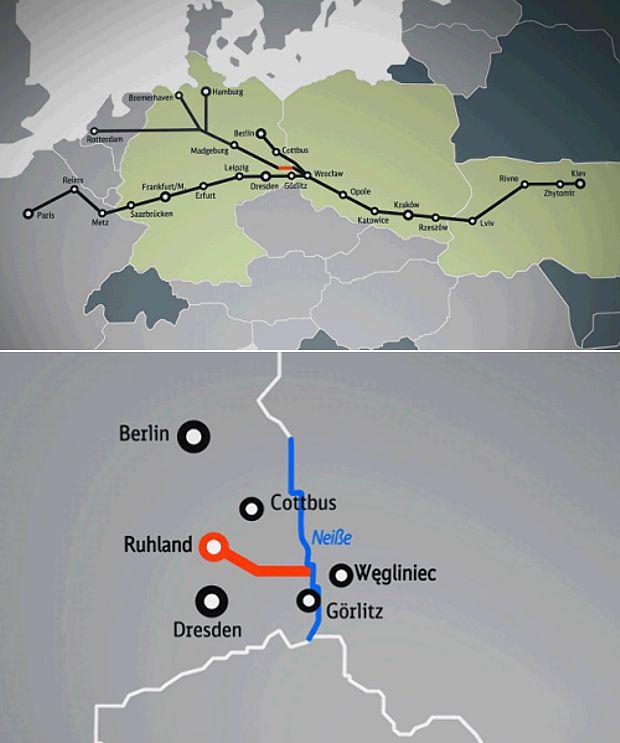 Niederschlesischen Verkehrsmagistrale