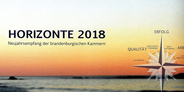 Wirtschafts- und Neujahrsempfang Horizonte 2018