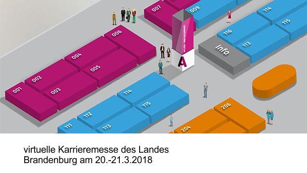 Virtuelle Karrieremesse Brandenburg