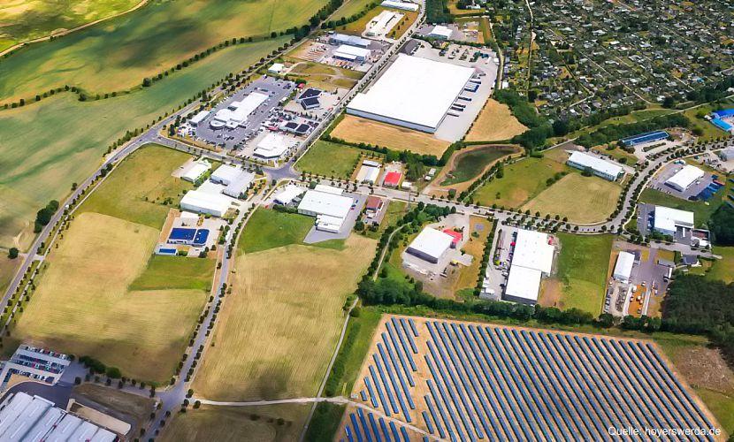 YADOS GmbH am Standort Hoyerswerda Gewerbegebiet Nardt