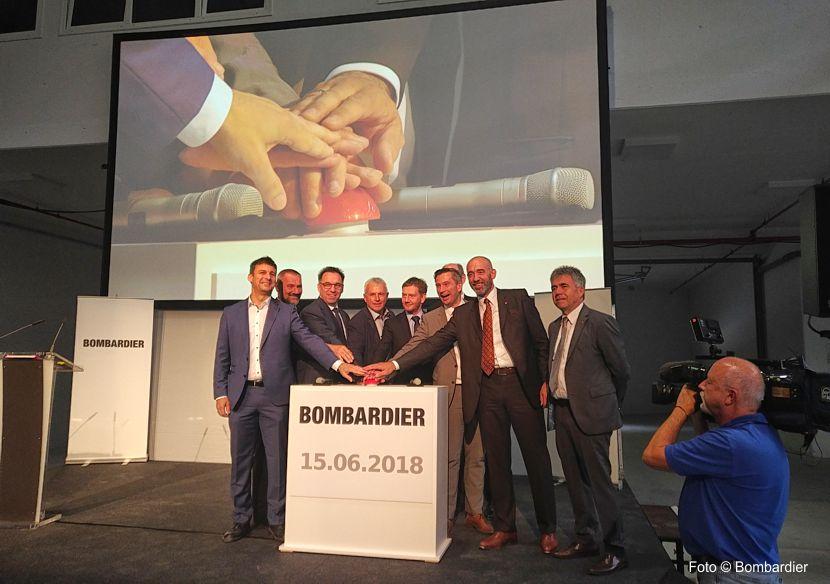 Bombardier Bautzen eröffnet neue Produktionshalle für Industrie 4.0 Serienproduktion