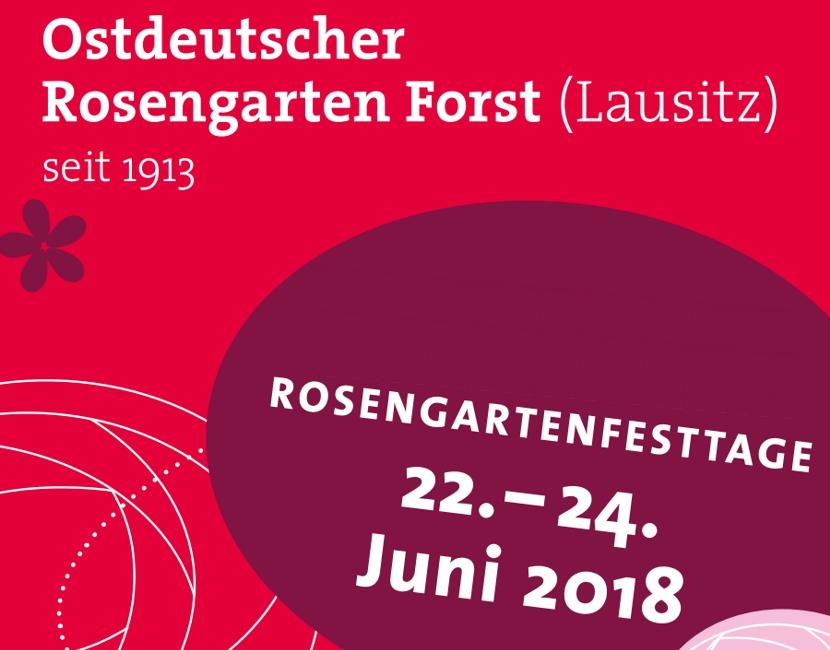 Rosengartenfesttage in Forst Lausitz