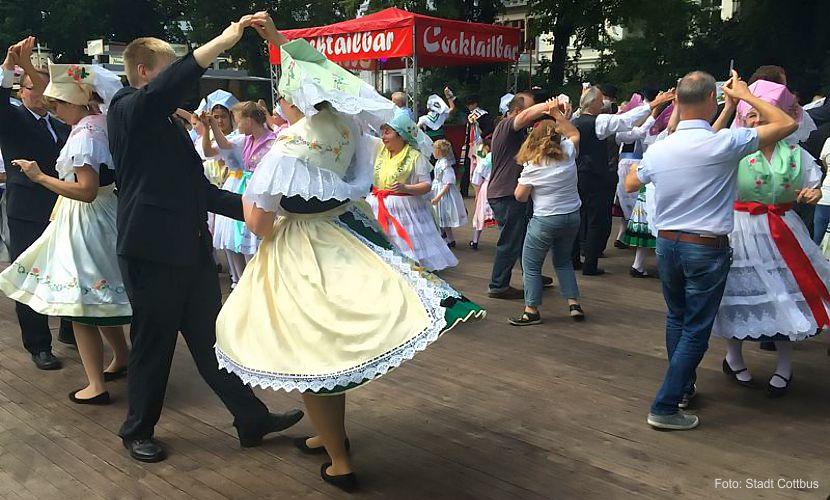 Sorbisches/wendisches Fest in Cottbus