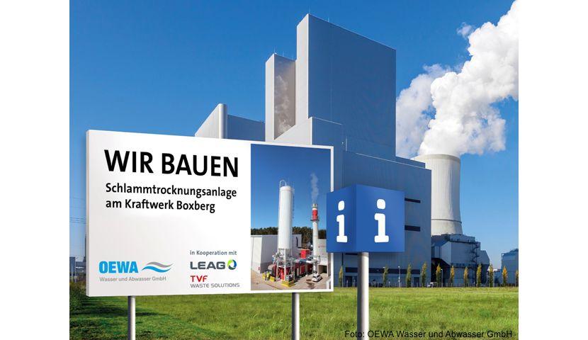 Trocknungsanlage für nachhaltige Verwertung von Klärschlamm in Boxberg