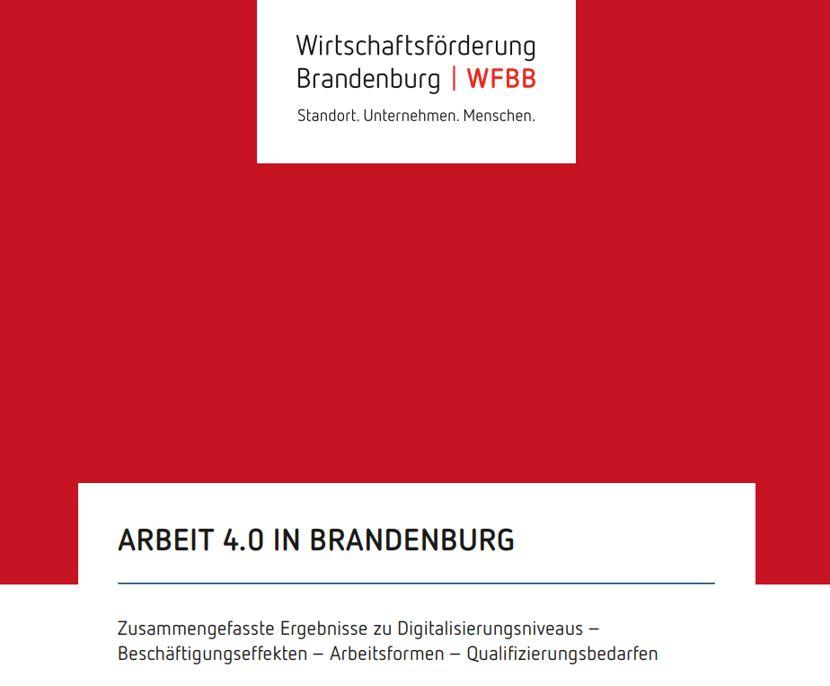 Neue Studie zur Arbeit 4.0 - Digitalisierung in Brandenburger Betrieben