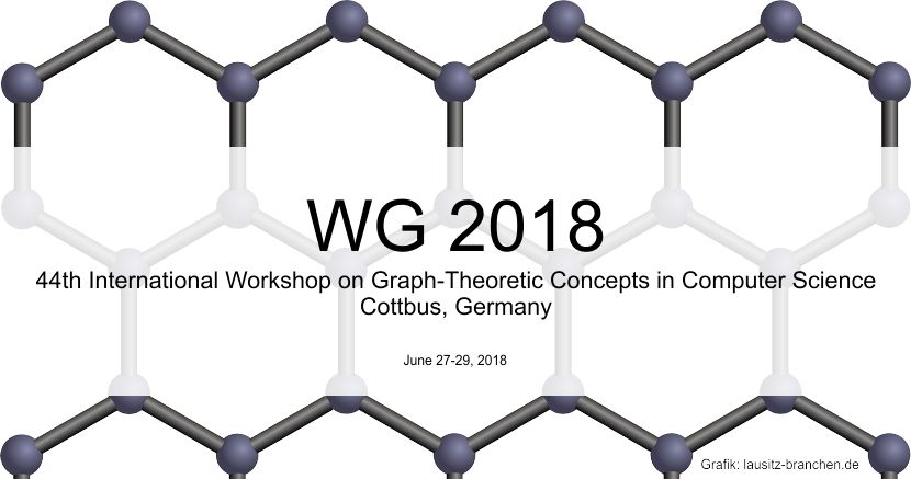 WG 2018 44th International Workshop on Graph-Theoretic Concepts in Computer
