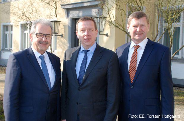 Landräte von Elbe-Elster, Oberspreewald-Lausitz und Spree-Neiße