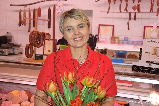 Jana Gerber ist die neue Vorsitzende der Unternehmerfrauen im Handwerk.  - Foto: HWK Cottbus