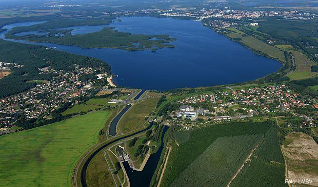 Sperrbereiche Senftenberger See