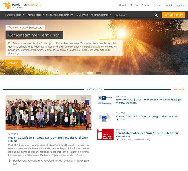 Tourismusnetzwerk Brandenburg