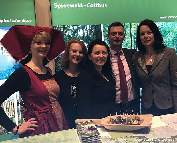Gemeinsamer Stand auf der Internationalen Tourismusbörse Berlin 2018