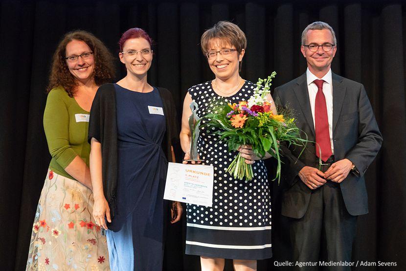 Unternehmerin des Landes Brandenburg 2018