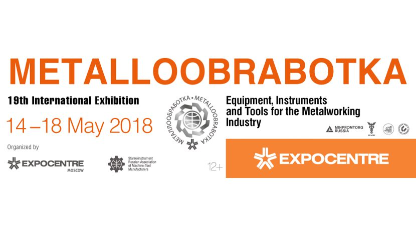 Maschinenbauer mit sächsichen Gemeinschaftsstandes auf Russlands großer Industriemesse Metalloobrabotka