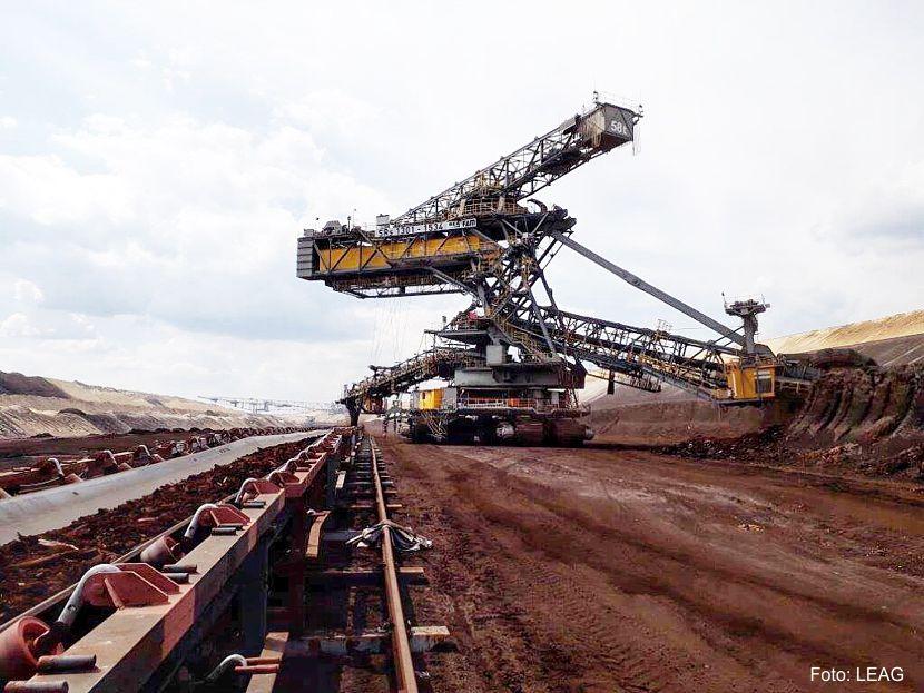 Die Kohleförderung im Tagebau Reichwalde wurde am Nachmittag wieder aufgenommen, Foto: LEAG