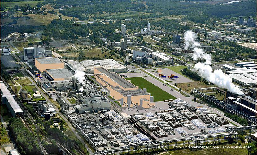 Neue Papierfabrik in Spremberg