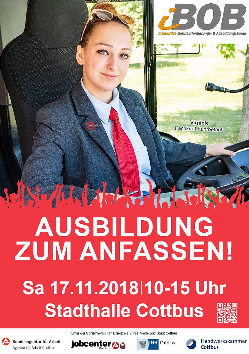 iBOB 2018 - Berufsorientierungsbörse Cottbus