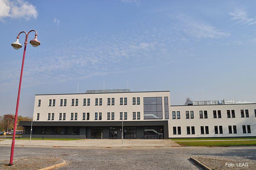 Jetzt Dreh- und Angelpunkt: Die neue Kaue der Tagesanlagen Welzow-Süd in Schwarze Pumpe, Foto: LEAG