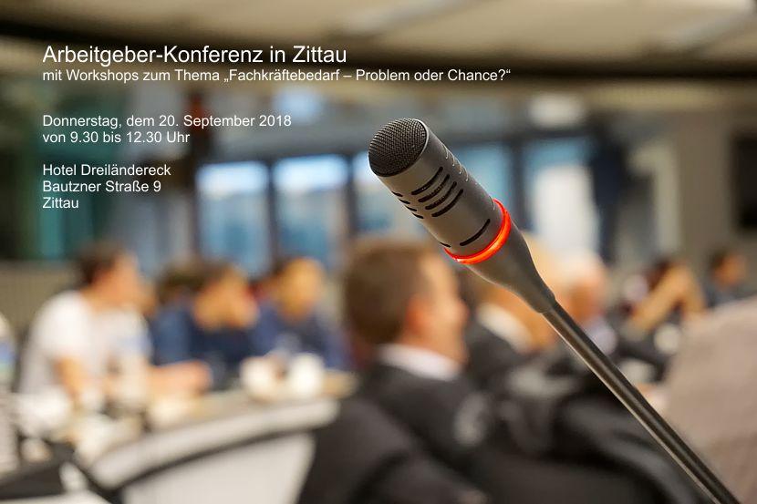 Arbeitgeber-Konferenz in Zittau
