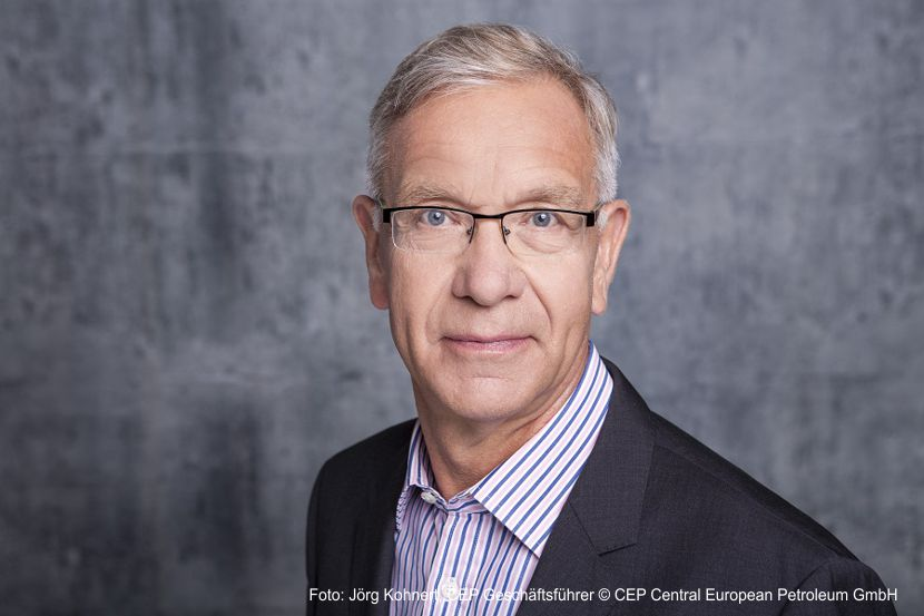 Jörg Kohnert, CEP Geschäftsführer © CEP Central European Petroleum GmbH