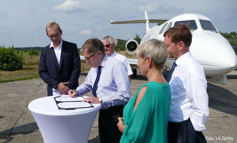 Flugplatz Rothenburg: Recycling und Nachnutzung von Flugzeugkomponenten