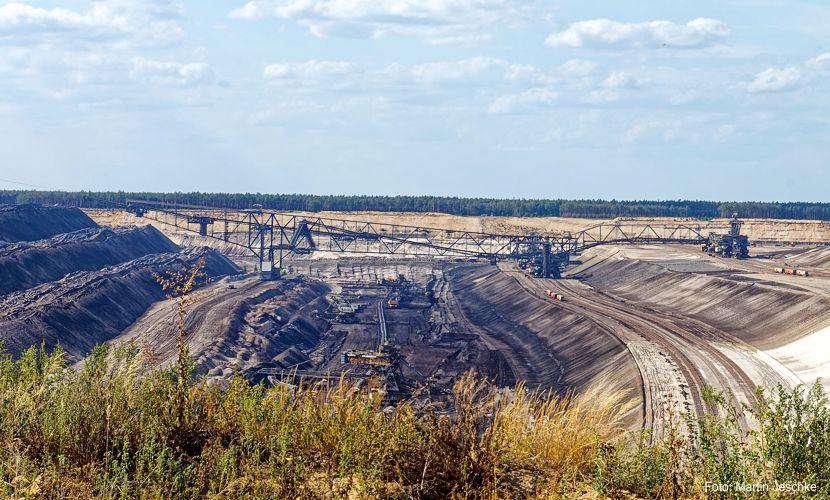 Sicherheitsbetrieb im Tagebau Jänschwalde notwendig