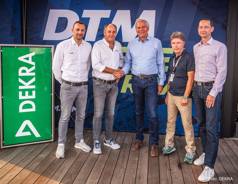 Lausitzring: DTM und DEKRA setzen Partnerschaft fort