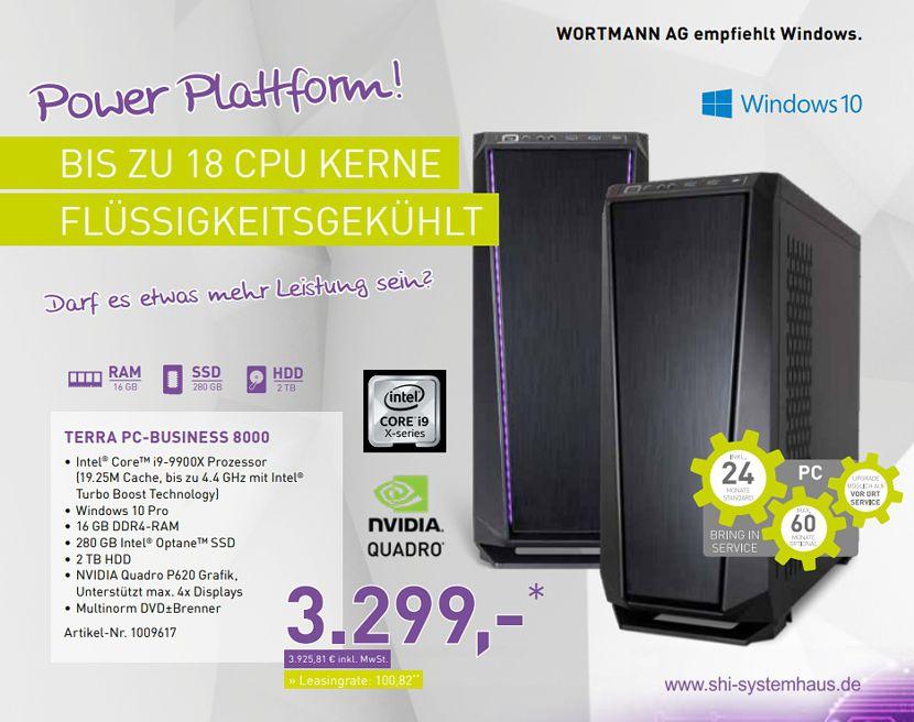 Der neue TERRA PC-Business 8000 ist ein echtes Kraftpaket. Kaum ein anderer TERRA PC bietet so viel Performance.