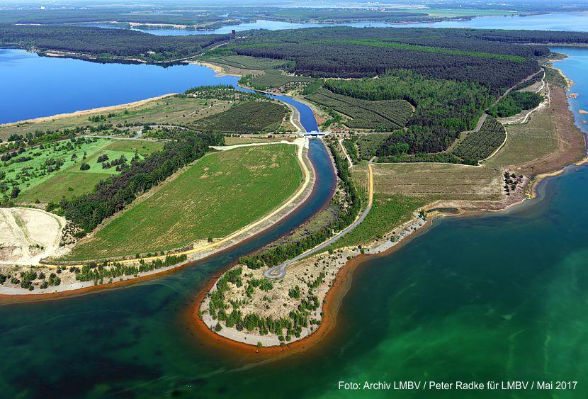 Barbarakanal und Partwitzer See sind nun ganzjährig schiffbar